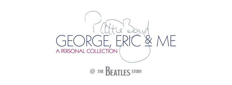 George, Eric and Me: Pattie Boyd exhibition opens