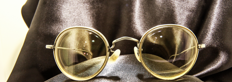 Memorabilia: John Lennon's Orange Spectacles