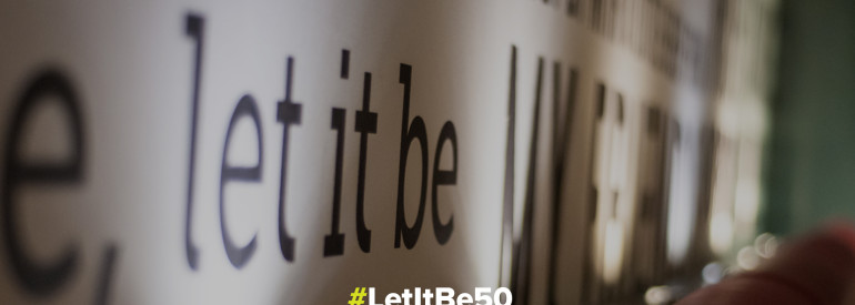 50 Years Since Let It Be - #LetItBe50