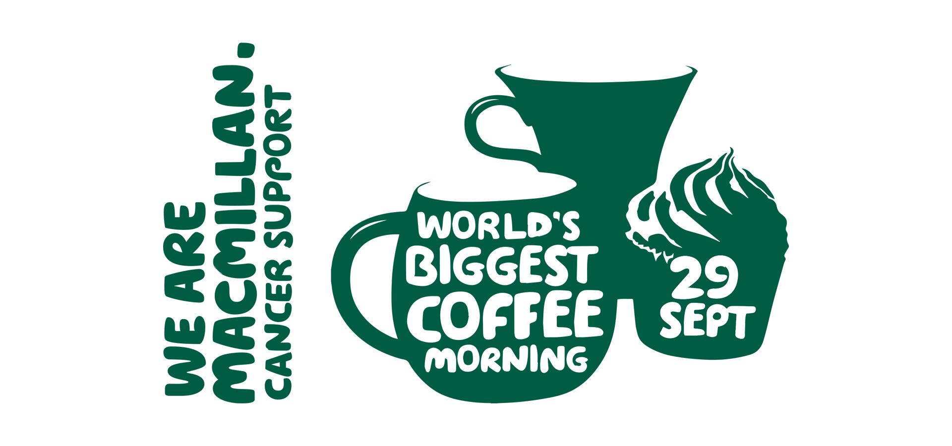 Macmillan: World's Biggest Coffee Morning