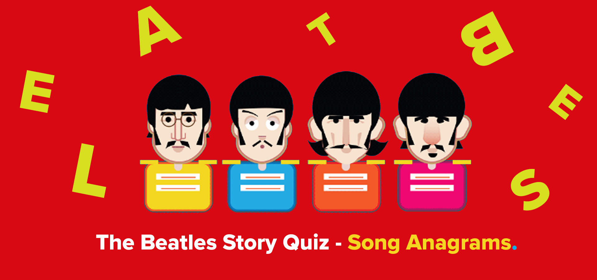 The Beatles Anagrams Quiz