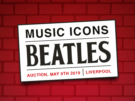 Music Icons Auction: The Beatles in Liverpool