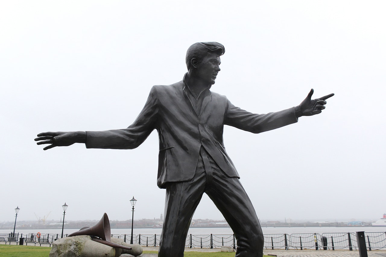 Billy Fury Statue | Image from Pexels