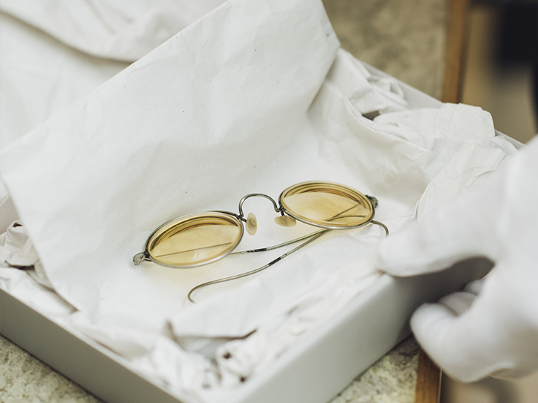 I M Looking Through You John Lennon S Spectacles The Beatles Story Liverpool
