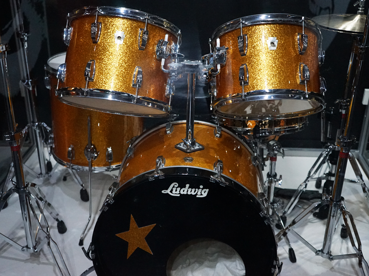 Starr Attraction Ringo S Gold Drum Kit The Beatles Story Liverpool