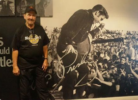 Hall of Fame: Legendary guitarist James Burton visits the Beatles Story