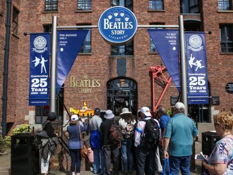 Beatles Story scoops top tourism award