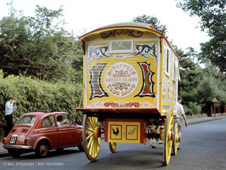 Peacing Together: John Lennon's gypsy caravan