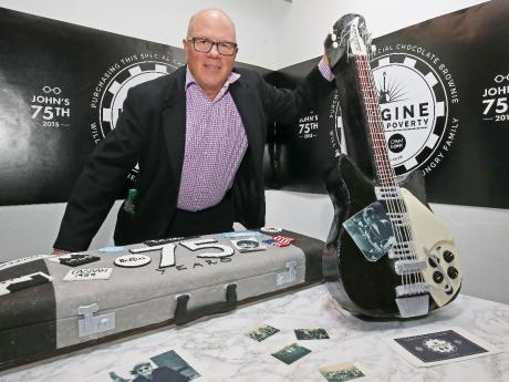 Choc n' roll: Guitar to mark John Lennon's 75th birthday