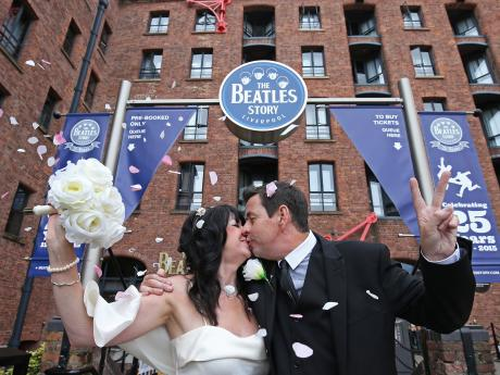 All You Need Is Love: The first Beatles Story wedding