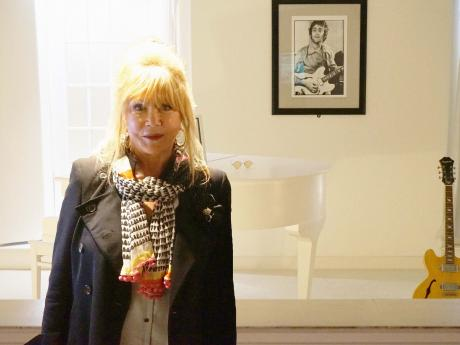 Something: Pattie Boyd visits the Beatles Story
