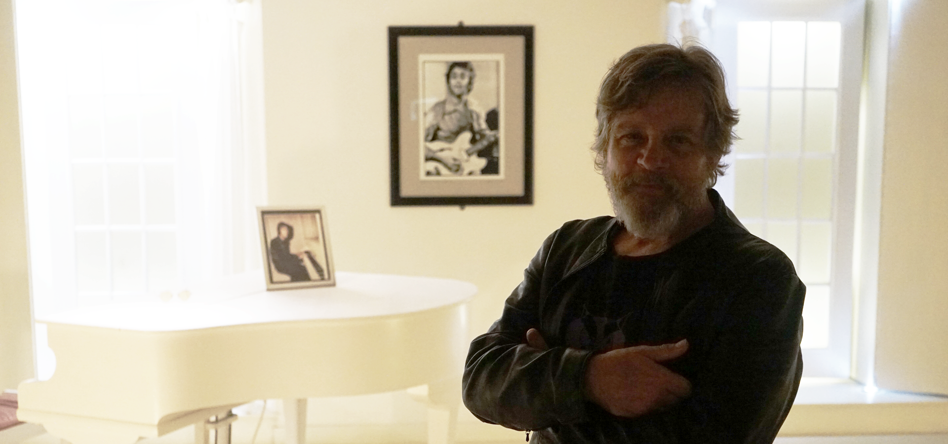 Legendary Star Wars actor Mark Hamill visits the Beatles Story