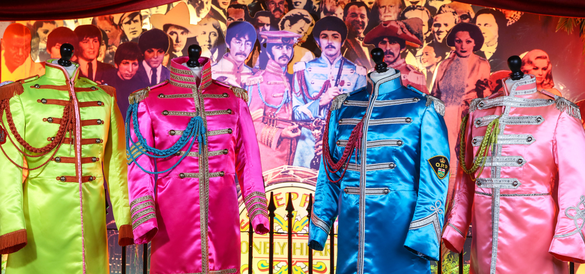 Sgt Pepper Suits: a perfect fit for The Beatles Story