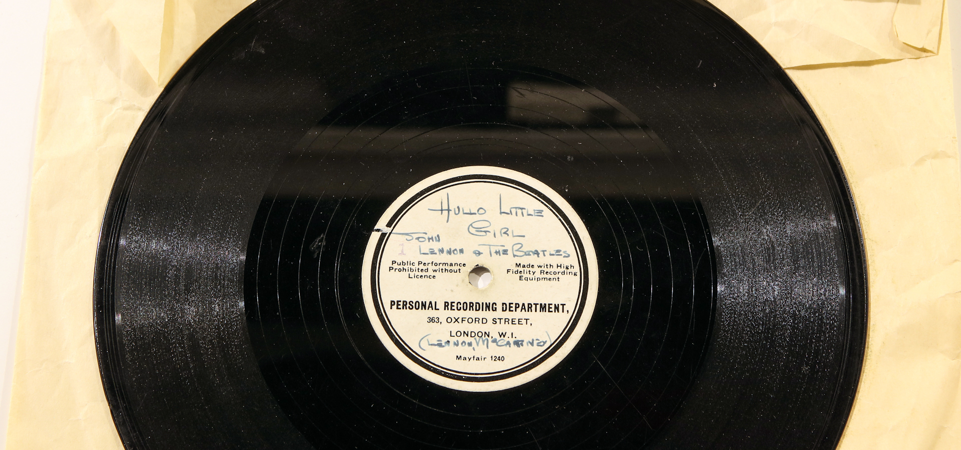 Holy Grail: The record that launched The Beatles