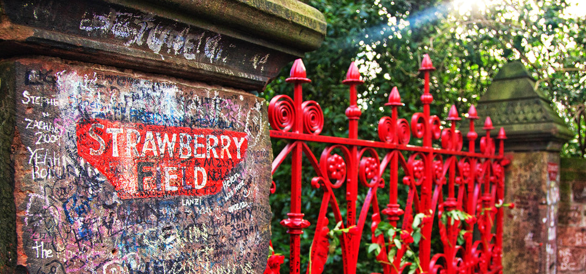 Strawberry Field near Liverpool, England