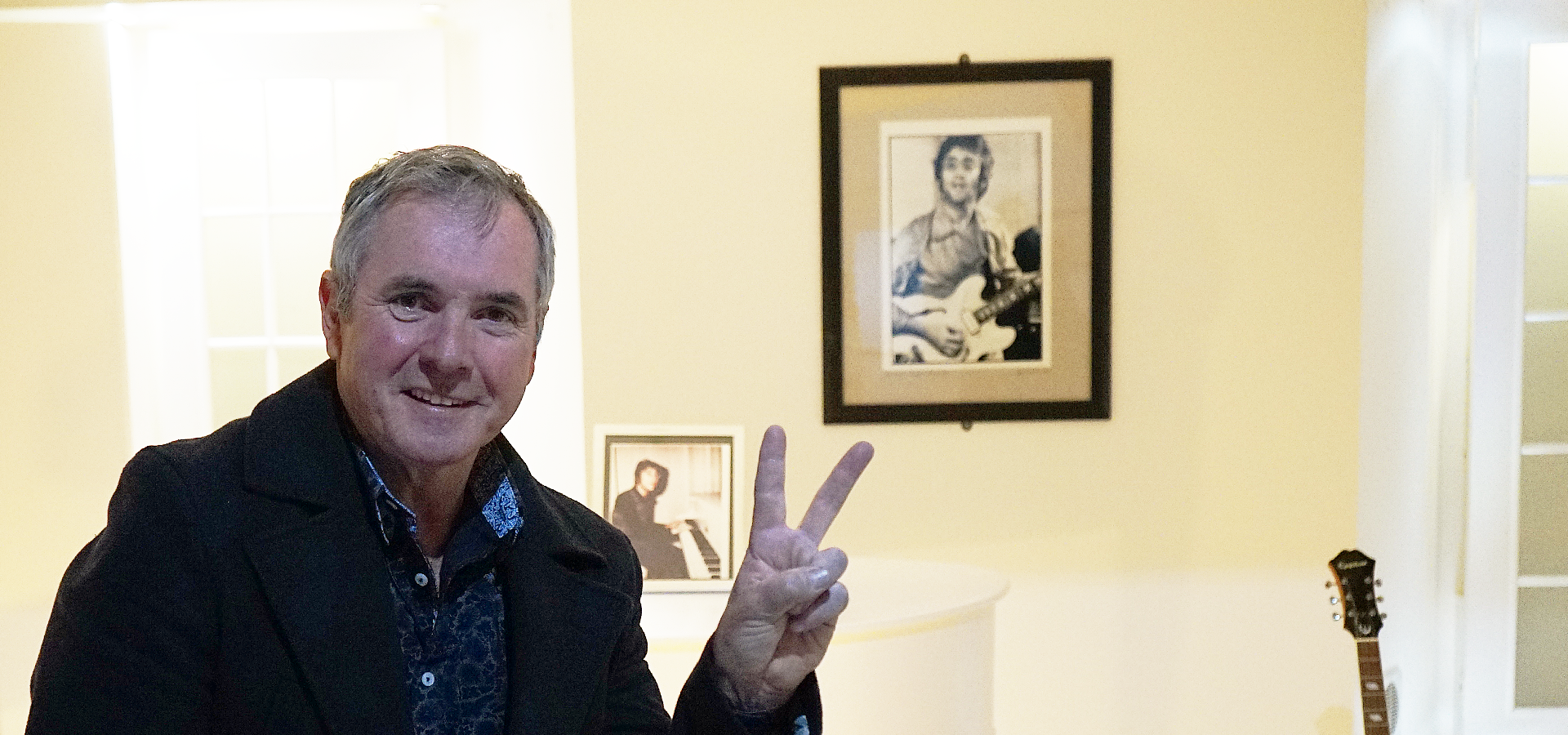 Imagine: Alan Fletcher visits The Beatles Story