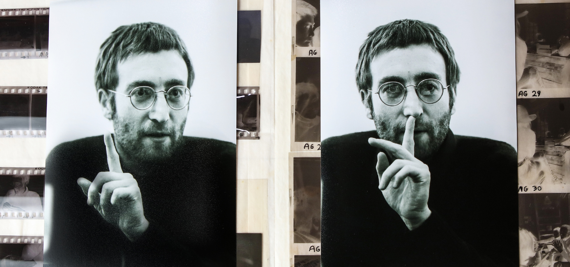 Lennon Legend: rare unseen photographs uncovered