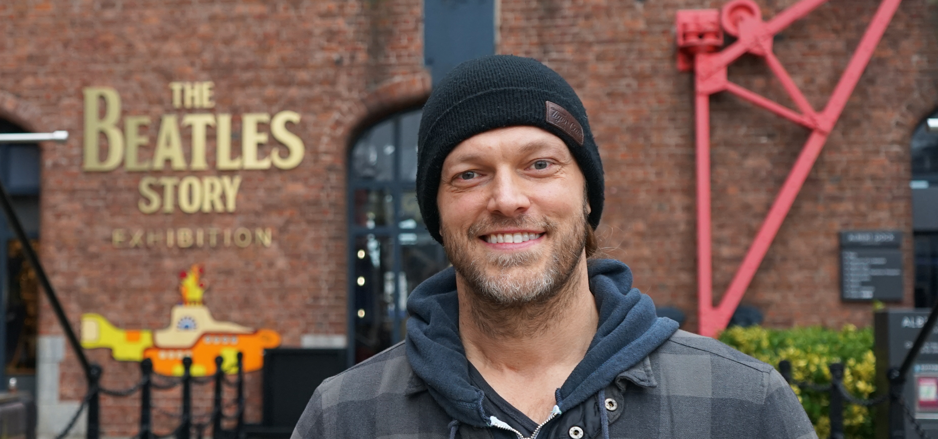 Edge: Wresting superstar visits The Beatles Story