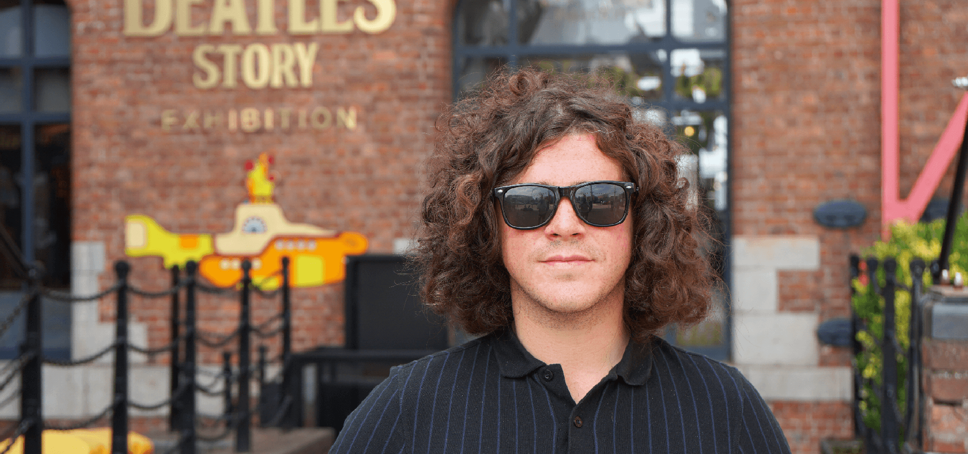 Kyle Falconer: The View frontman visits The Beatles Story