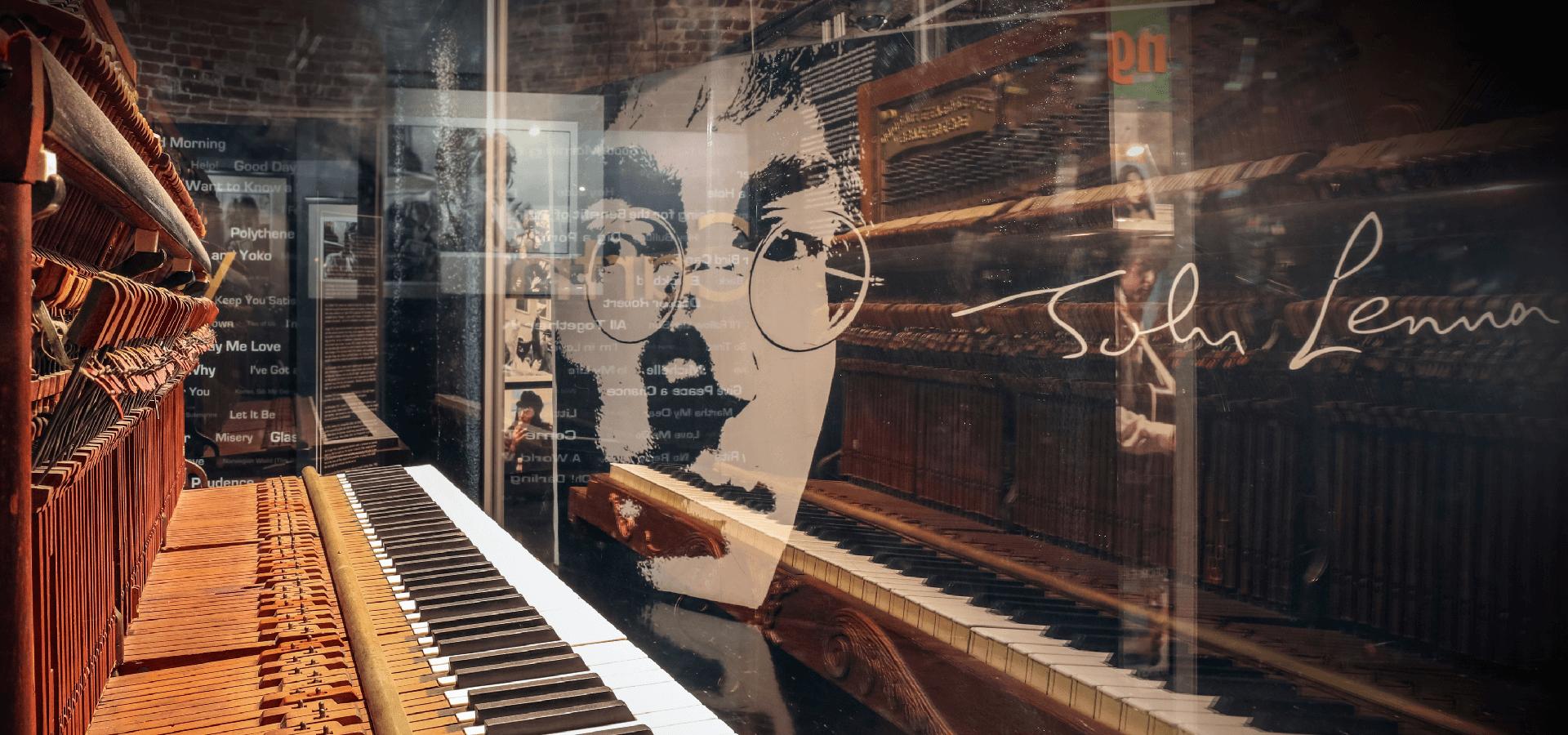 Get Back: John Lennon's last piano