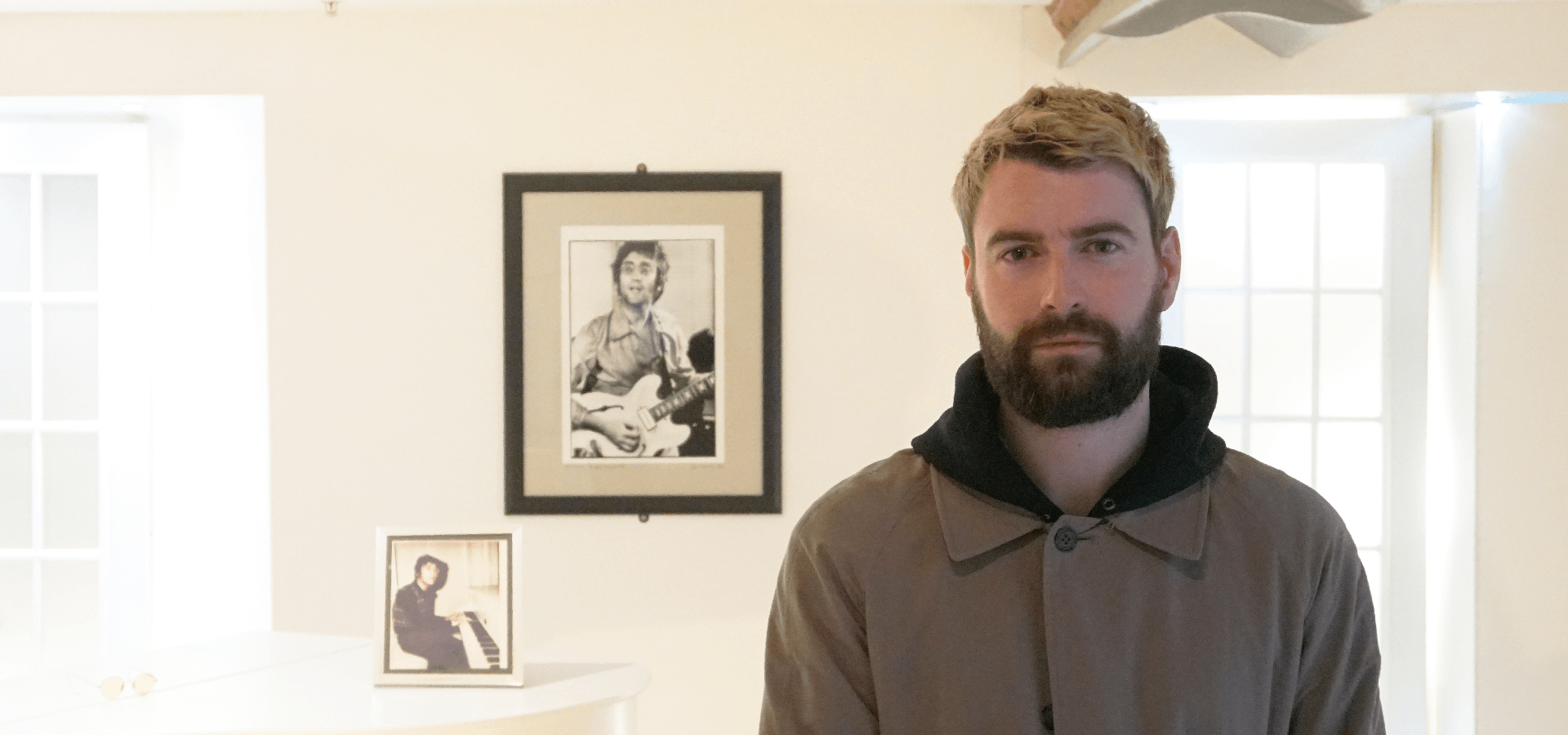 Liam Fray: Courteeners frontman visits The Beatles Story