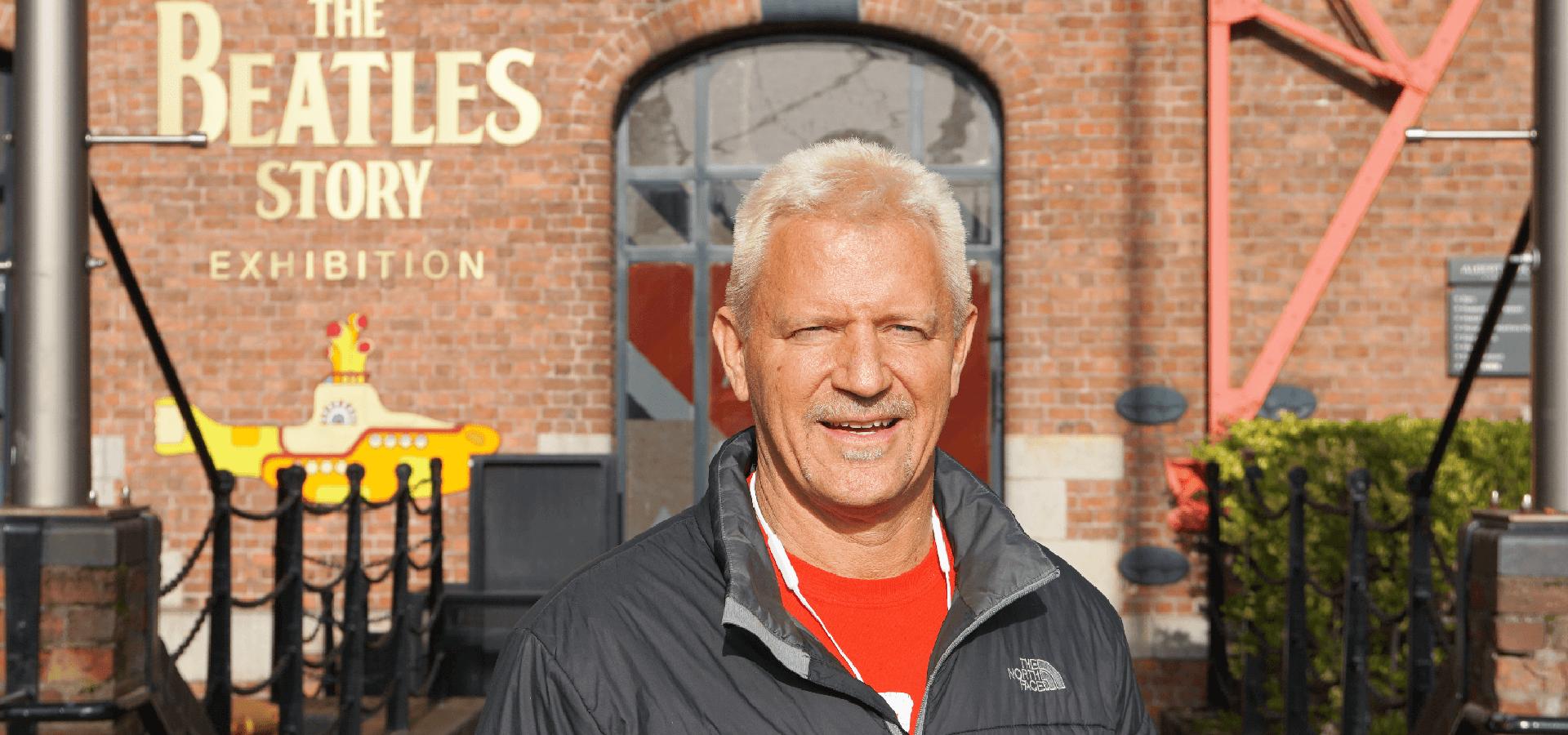 Jeff Jarrett: wrestling star visits The Beatles Story
