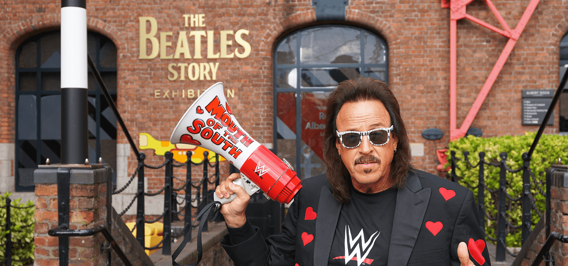 Jimmy Hart: WWE legend visits The Beatles Story