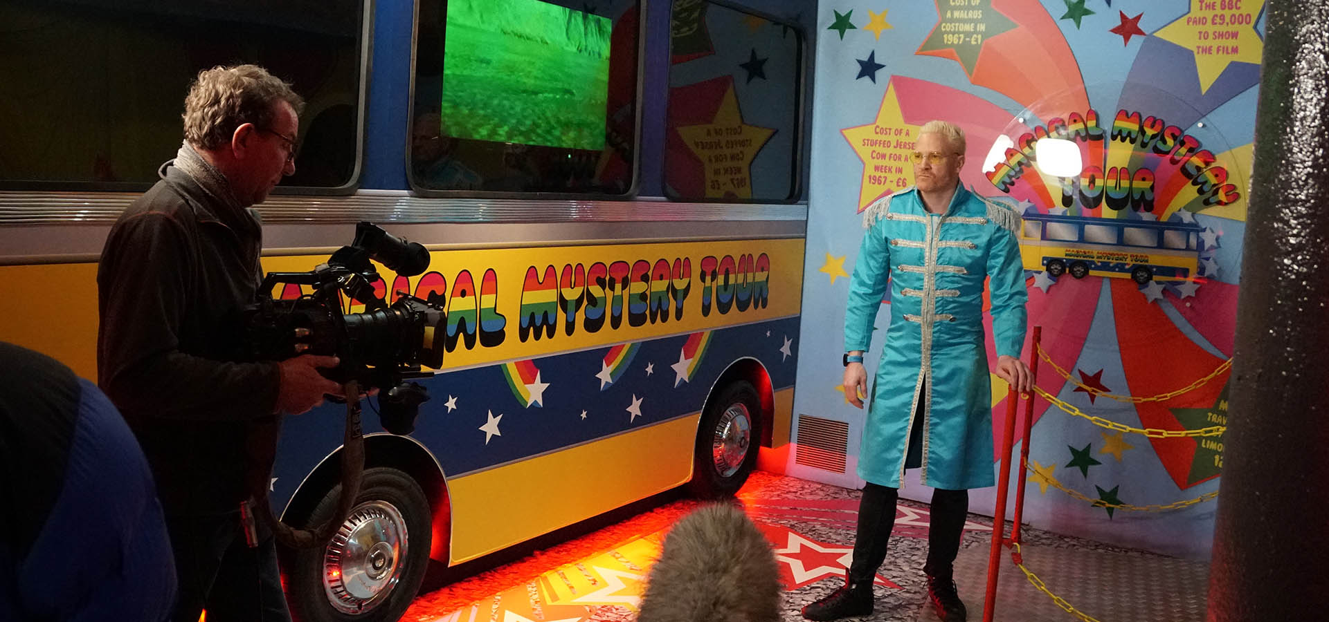 Iwan Thomas MBE: ITV visits The Beatles Story