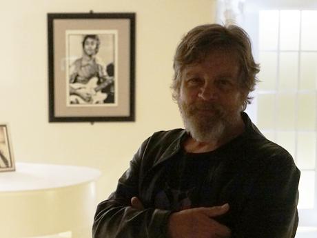 Legendary Star Wars actor Mark Hamill visits the Beatles Story