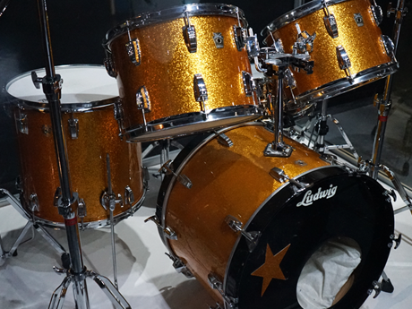 Starr Attraction: Ringo's golden drum kit