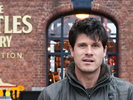 Seth Lakeman: Folk singer visits The Beatles Story