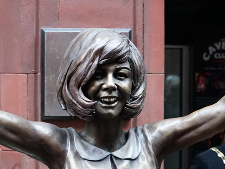 Cilla Black: New statue unveiled