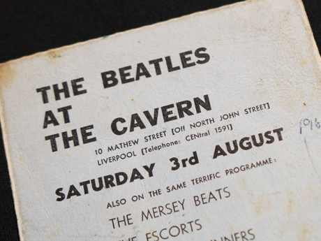 Cavern Club: the final concert ticket