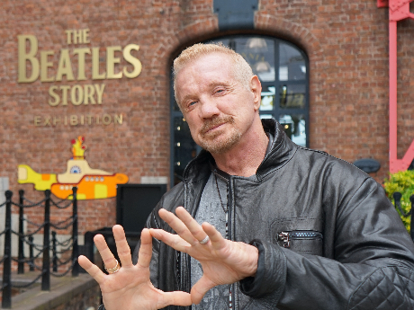 Hall of Fame: Diamond Dallas Page visits The Beatles Story