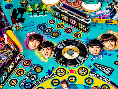 Beatles Pinball: a UK first comes to the Fab4 Cafe