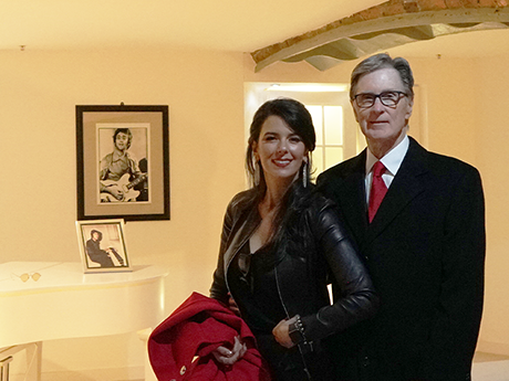 LFC: John W. Henry visits The Beatles Story