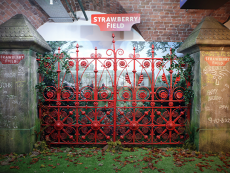 Hello, Goodbye: Strawberry Field gates return home