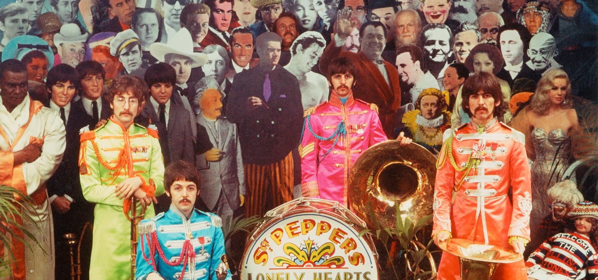 Memorabilia: alternative Sgt Pepper cover