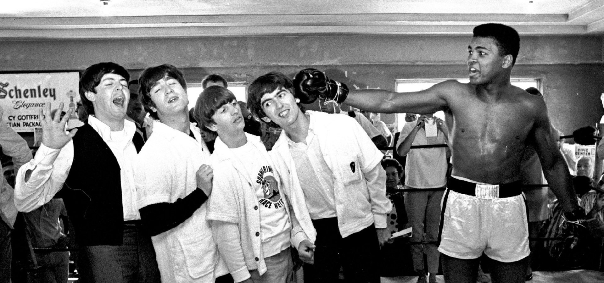 The Greatest: when The Beatles met Muhammad Ali