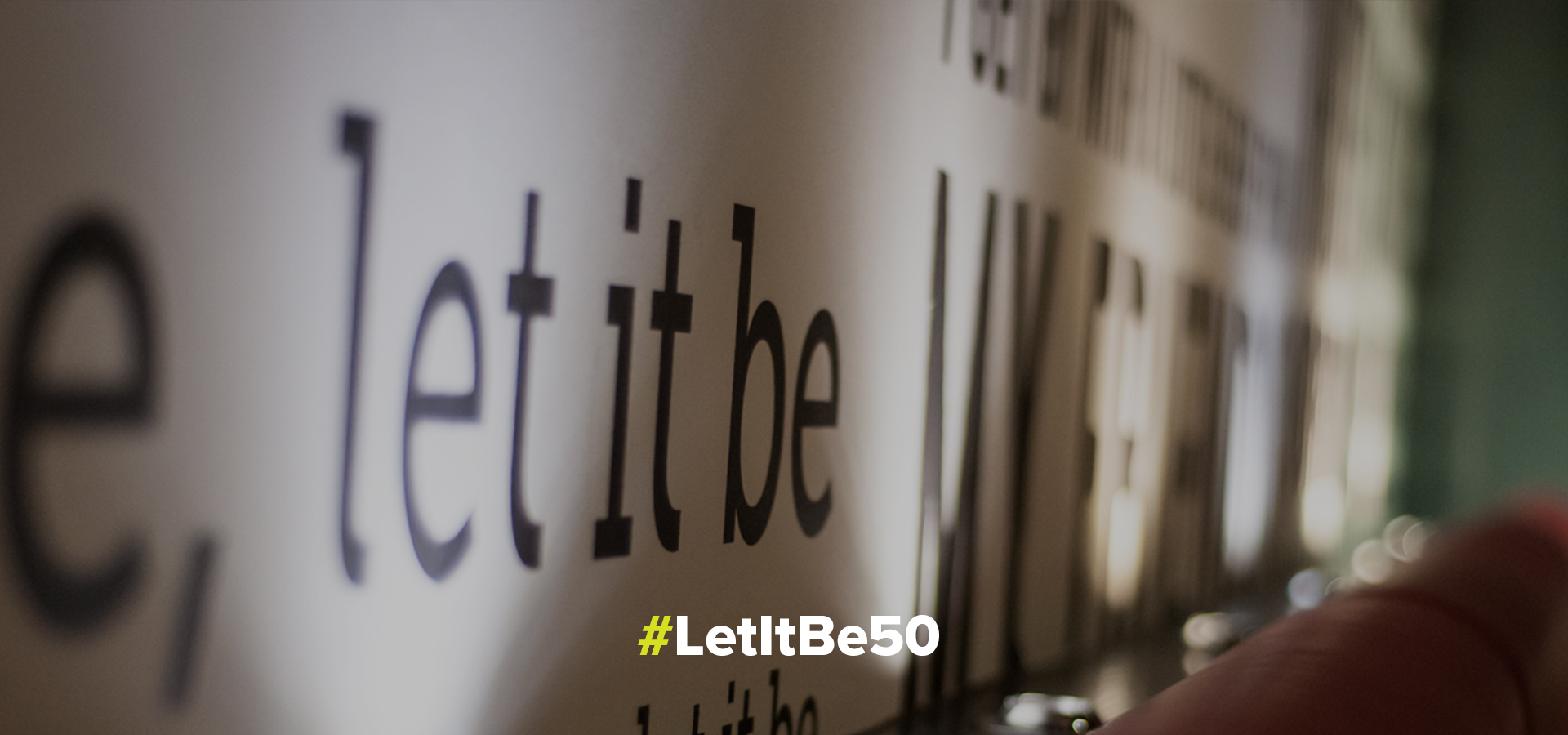 'The Long And Winding Road' by Peter Hooton - #LetItBe50