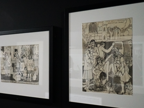 Memorabilia: The Cynthia Lennon drawings