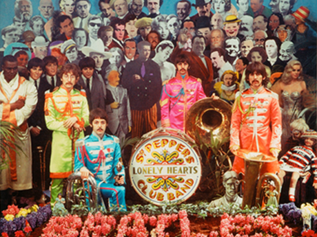 Memorabilia: alternative Sgt Pepper cover