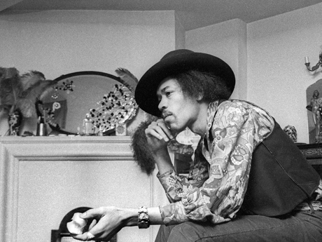 Jimi Hendrix: the Sgt Pepper experience