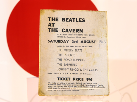 Memorabilia: the final Cavern ticket